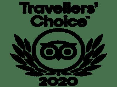 Premio Travellers Choice 2020 por TripAdvisor